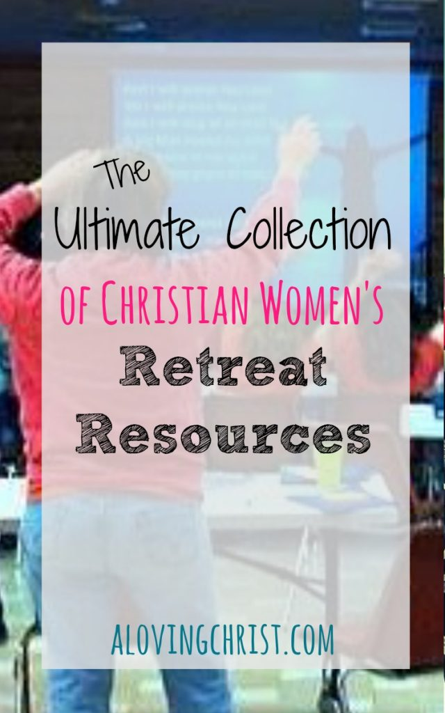 Planning a women's retreat? This ultimate list of christian women's retreat resources will help! Use our actual recipes, agendas, etc. & avoid overwhelm.