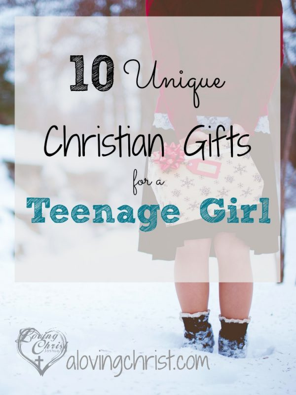 Finding Christian gifts for a teenage girl isn't always easy, but these 10 plus more unique gift ideas can help your girl live her faith daily.