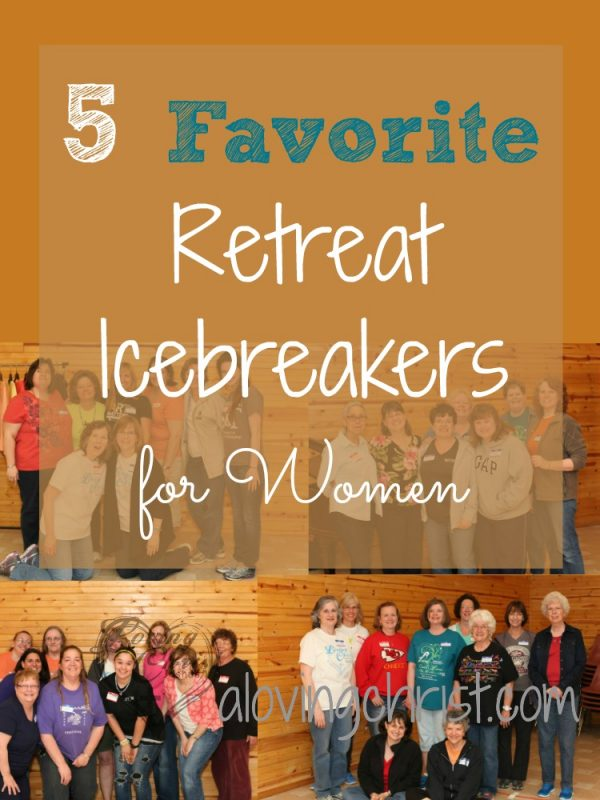 Whether you're holding a retreat or a bible study, these 5 icebreakers for women will bring joy and laughter to your gathering. Plus, they all give the ladies a chance to know each other better.