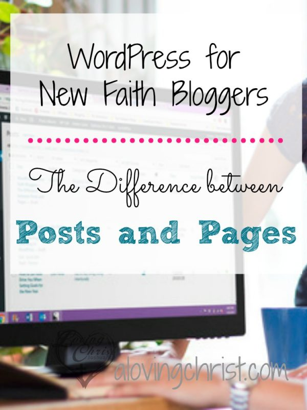 Be sure to know the difference between WordPress Posts and Pages so that you can make the best use of your blog to reach your readers.