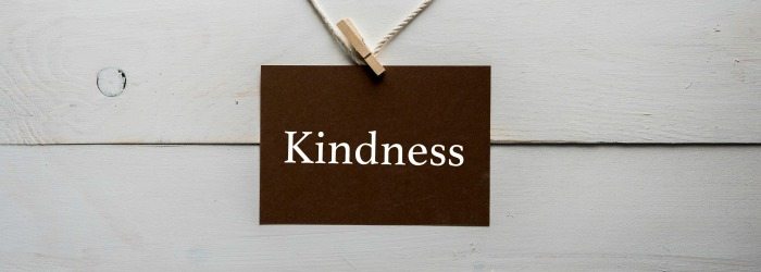 No matter what 'wickedness' we face, we are called to treat the person with kindness. Kindness matters in every step of our faith.