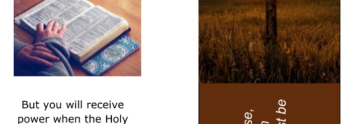 How to Create Christian Bookmarks for a Women's Retreat