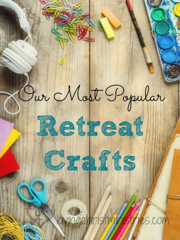 Creating an atmosphere of collaboration within your women's group can be accomplished by choosing retreat crafts that bring the ladies together and allow them to create, learn, and laugh together. These retreat crafts are the ones we keep returning to as women ask for them over and over again.