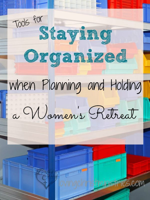 Retreat planning can be overwhelming as you work to bring together all aspects of the retreat. Staying organized is key. These tips can help you organize everything from your planning team to your budget.