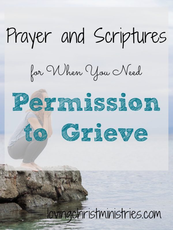 We sometimes make grief harder by beating ourselves up when we can't get over it, when we feel our faith should be stronger, and when our grief comes from losing someone we deem as 'not as important' as someone else. But God gives us permission to grieve as we need to and promises we'll find comfort in Him forever.