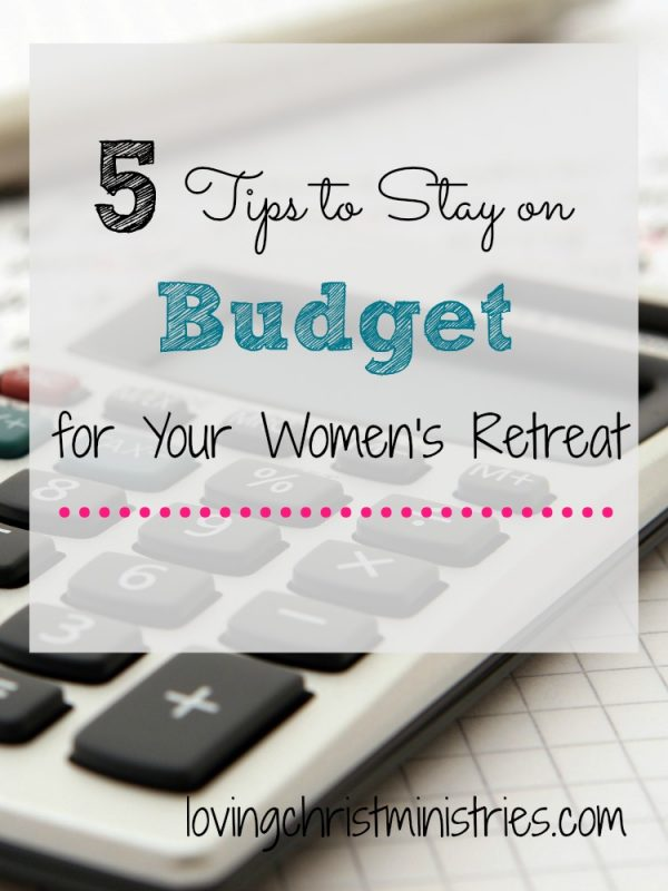 Check out these 5 tips that will help you with your retreat planning so that you can stay on budget and still provide the experience you want.