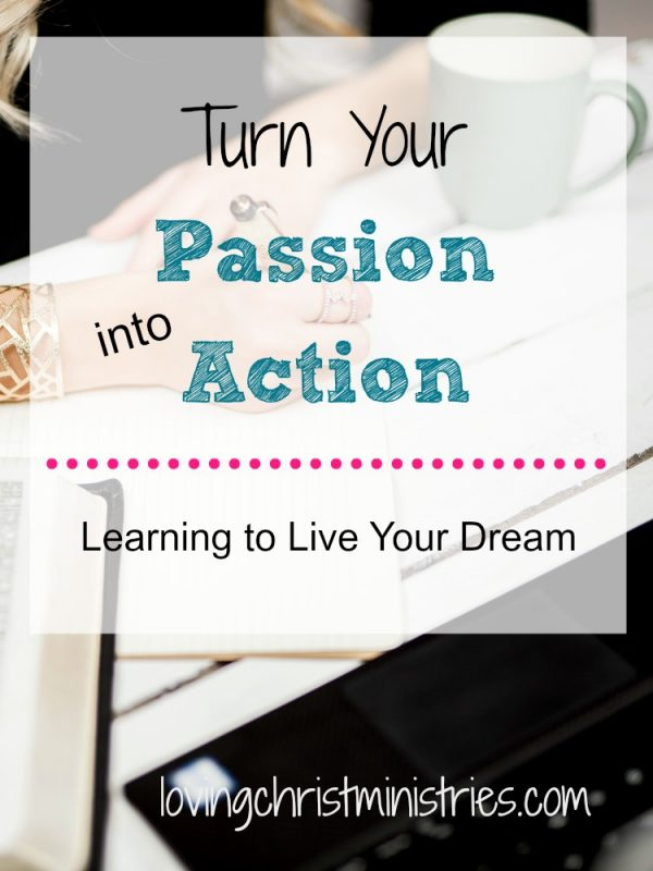 What's holding you back from fulfilling your dreams? Fear? Find your sweet spot, push through your fears, and turn your passion into action. You can do it!