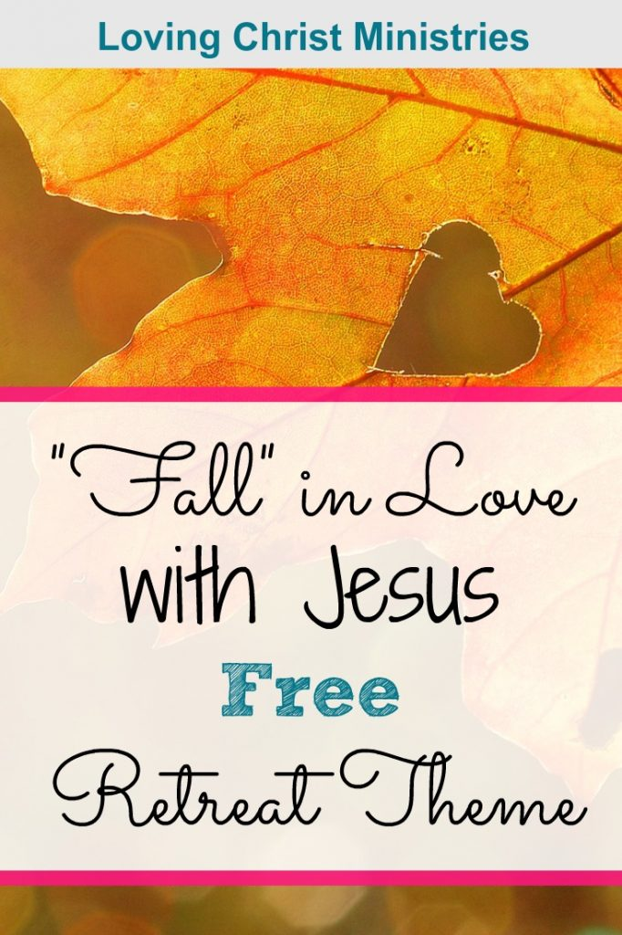 yellow fall leaf with a heart in the middle with title text overlay