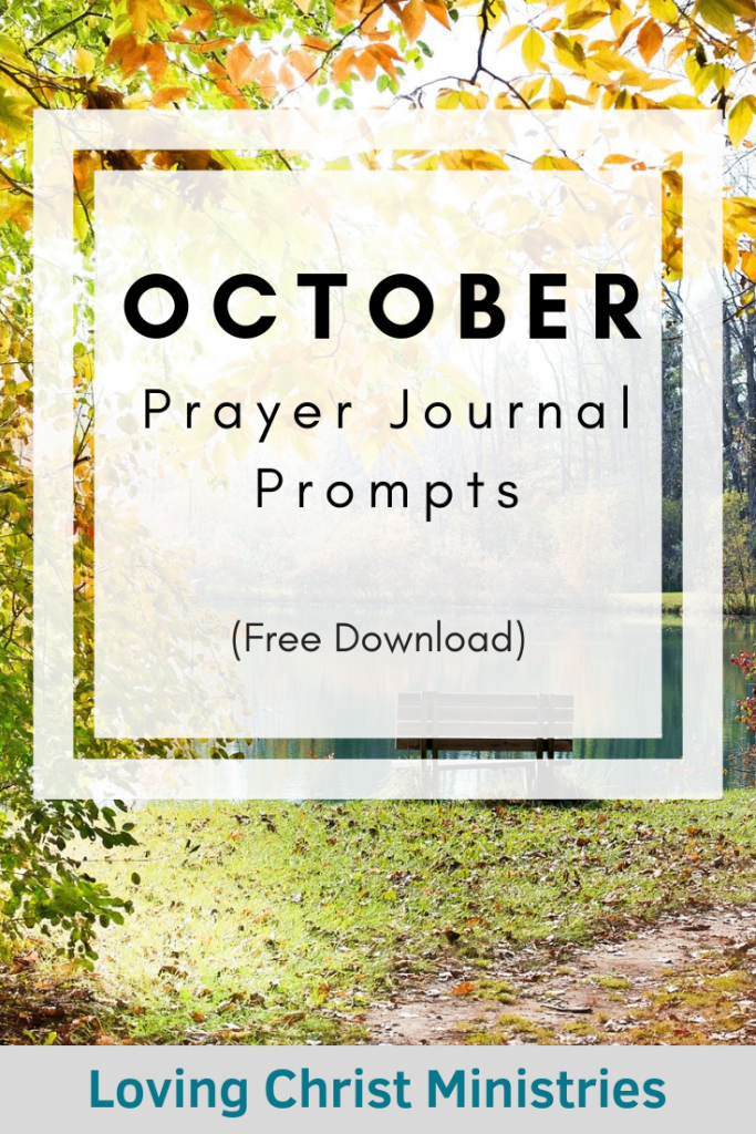October Prayer Journal Prompts Free Download Autumn Leaves