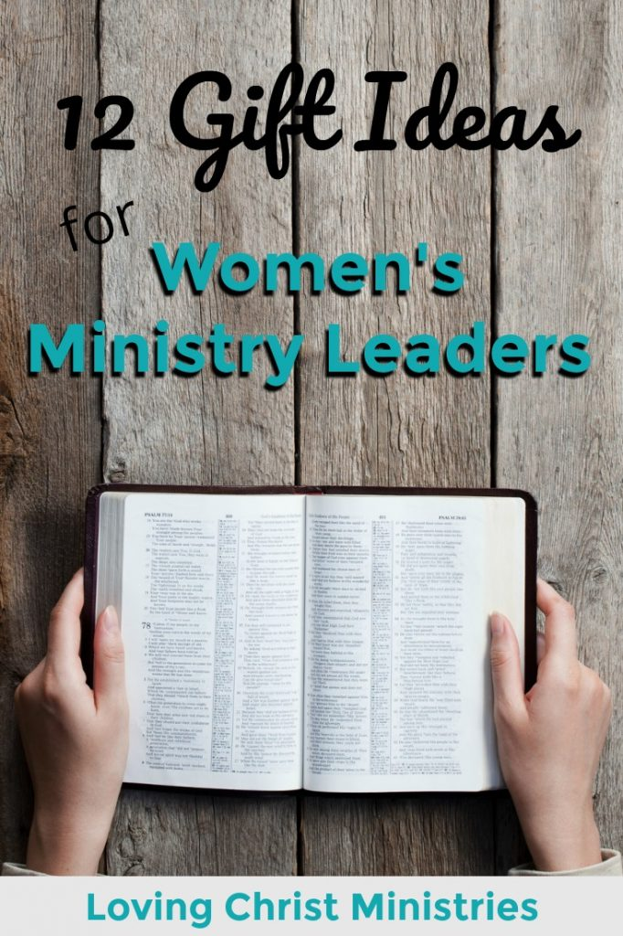Gift Ideas for Women's Ministry Leaders