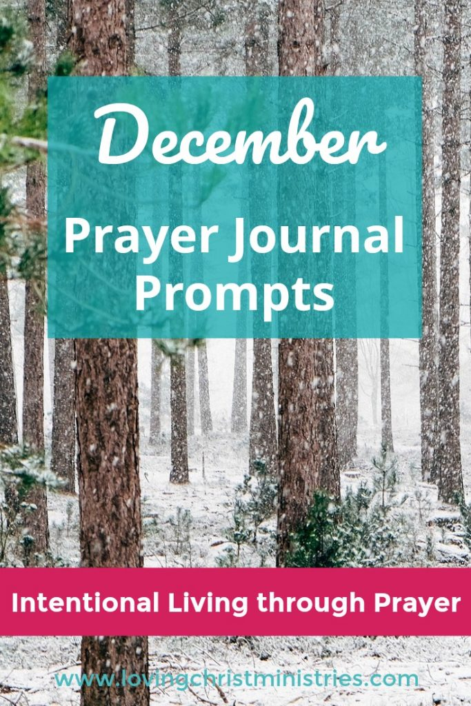 Free December Prayer Journal Prompts