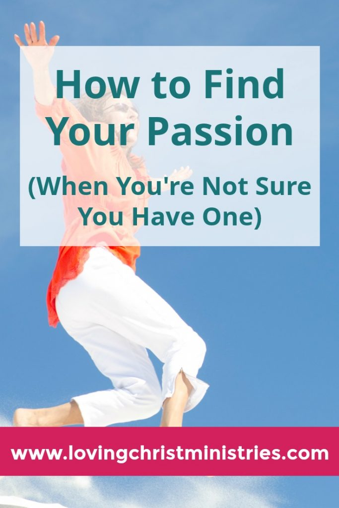 How to Find Your Passion When You're Not Sure You Have One