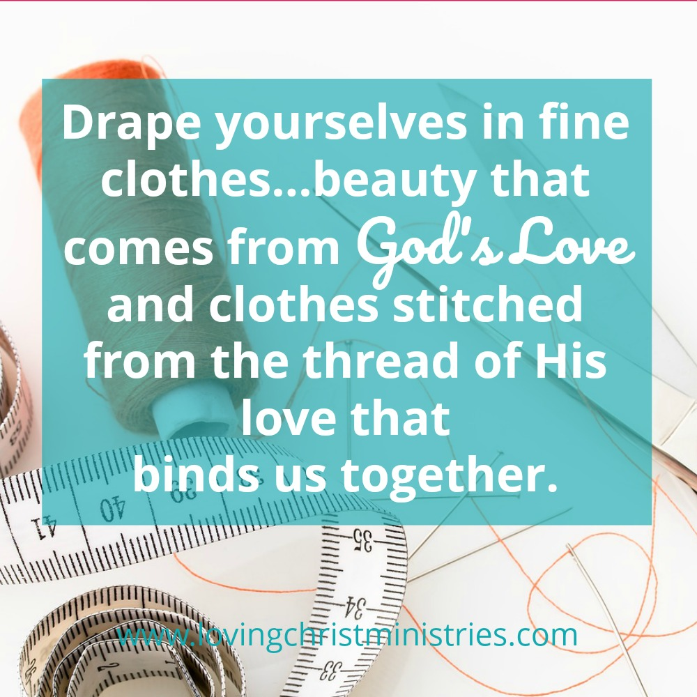 The Finest Thread Of God's Love Binds Us Together