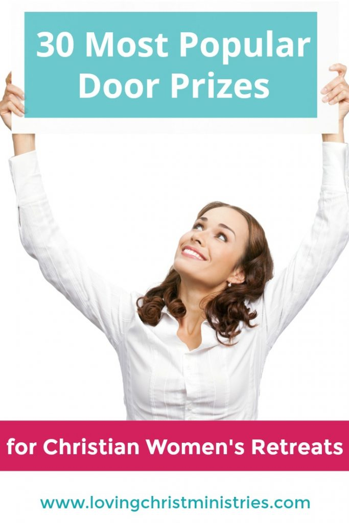 30 Most Popular Door Prizes for Christian Women's Retreats