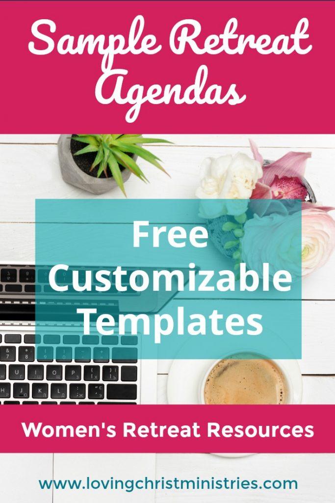 Sample Retreat Agendas - Free Customizable Templates