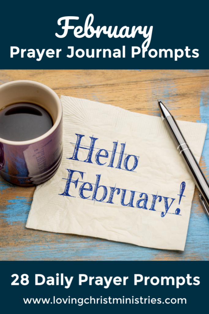 February Prayer Journal Prompts