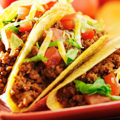 Slow Cooker Taco Meat for Large Groups | Loving Christ