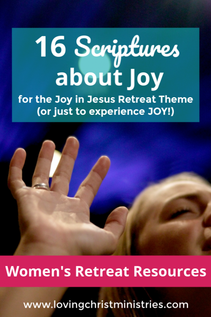 16 Scriptures about Joy