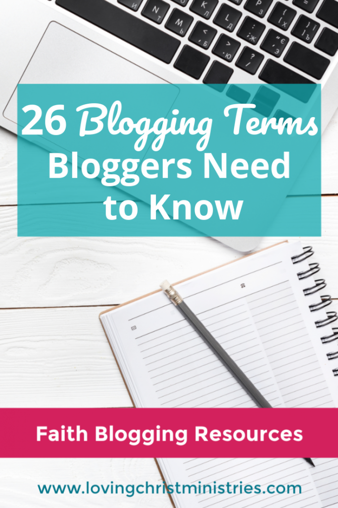 26 Blogging Terms Bloggers Need to Know