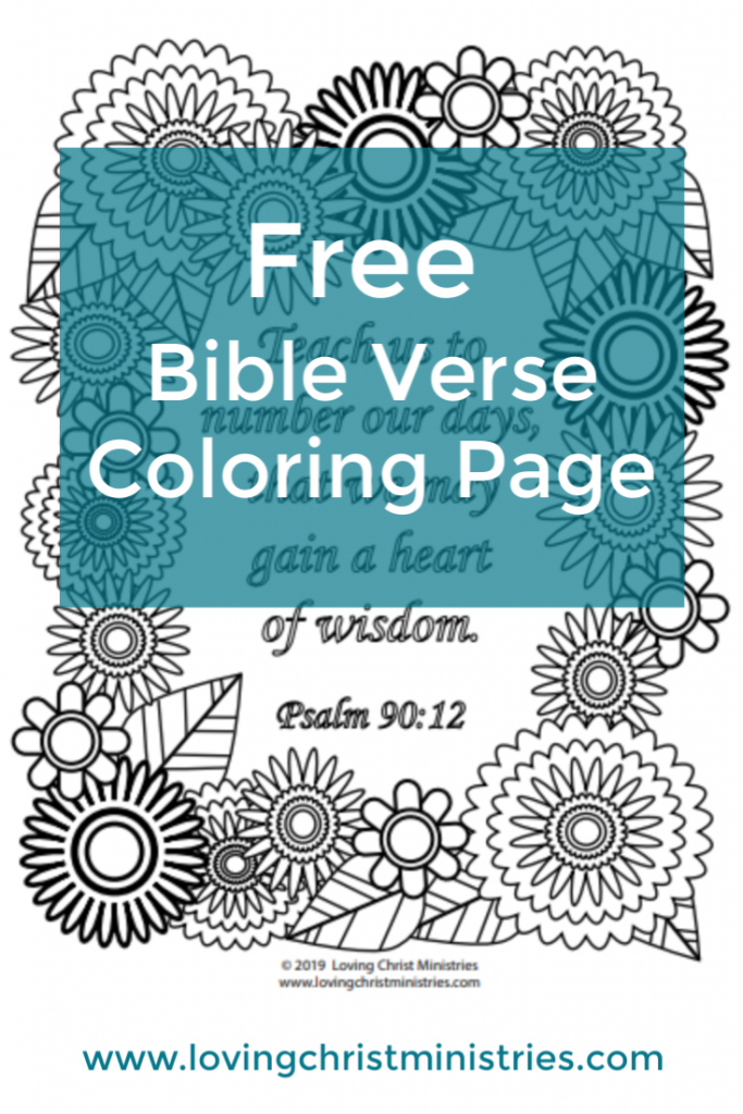 Gain a Heart of Wisdom Free Coloring Page