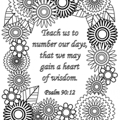 Gain a Heart of Wisdom Coloring Page