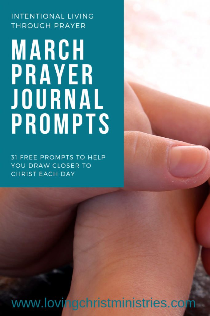 Free March Prayer Journal Prompts