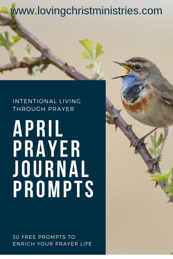 April Prayer Journal Prompts