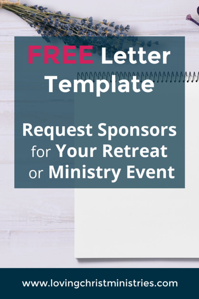 Free Sponsor Request Letter Template