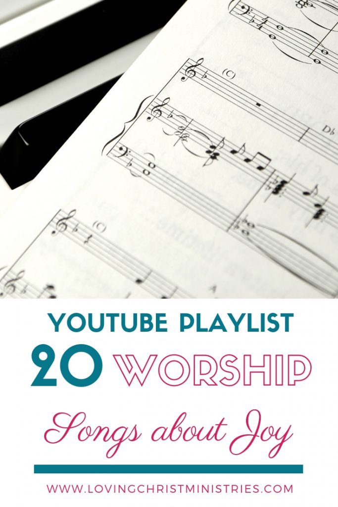 YouTube Playlist of Worship Songs about Joy