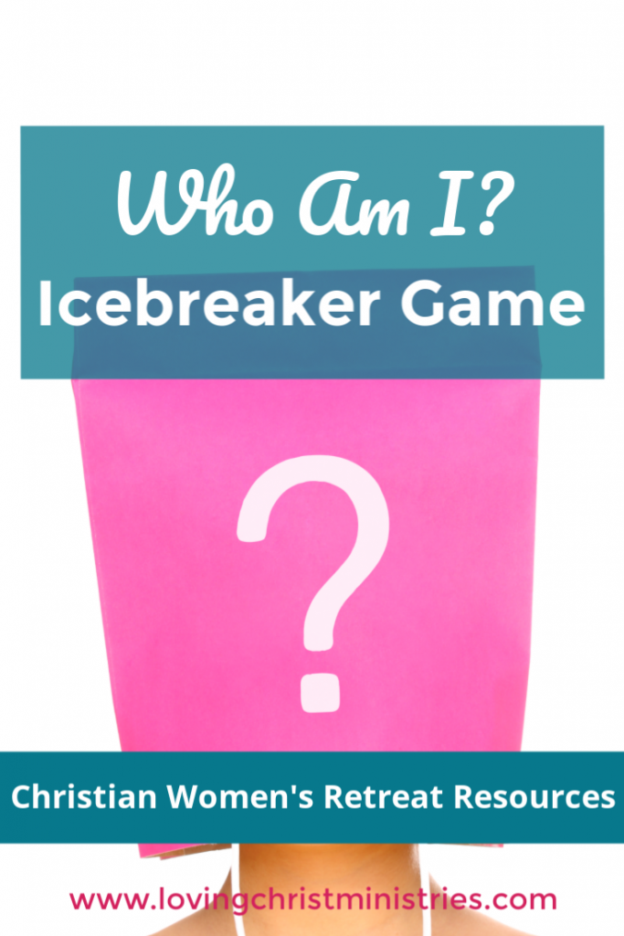 Who Am I Icebreaker Game