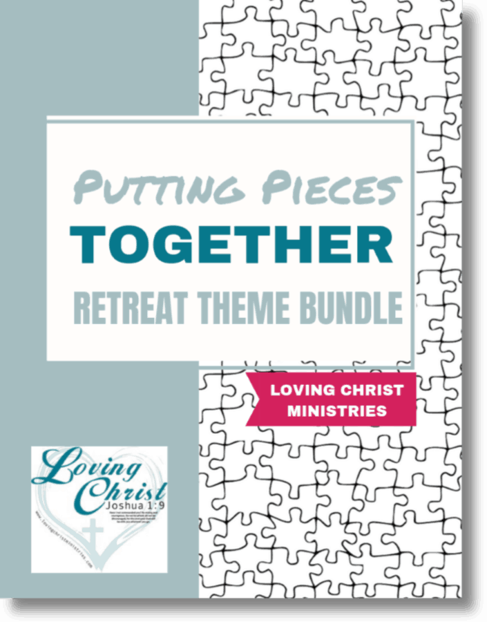 cover of Putting Pieces Together Retreat Theme Bundle