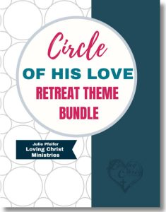 cover of Circle of His Love Christian Women's Retreat ThemeCircle of His Love Christian Women's Retreat Theme