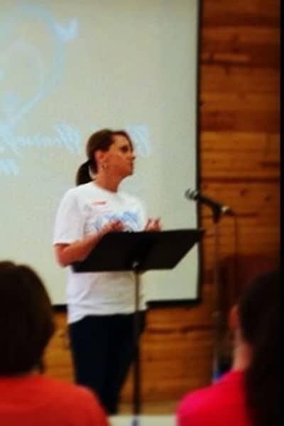 image of Christian women's retreat speaker