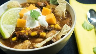 Slow Cooker Vegetarian Taco Soup