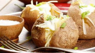 Baked Potatoes in Crock Pot | Slow Cooker Baked Potatoes