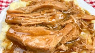 Slow Cooker Pork Chops and Gravy
