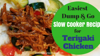How to Make the Easiest Slow Cooker Recipes for Teriyaki Chicken