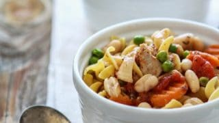 Slow Cooker Italian Chicken and Noodles