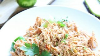 Salsa Lime Chicken: 3 Ingredients - Healthy & Gluten-Free!