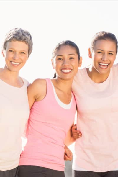 women together laughing