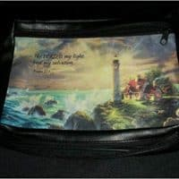 The Village Lighthouse Medium Bible Cover