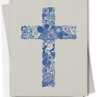 Twigs Stationery Christian Cross Note Card Set