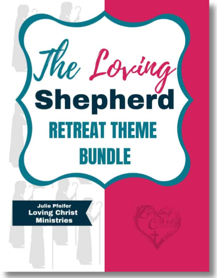 Cover page for The Loving Shepherd Retreat Theme Bundle