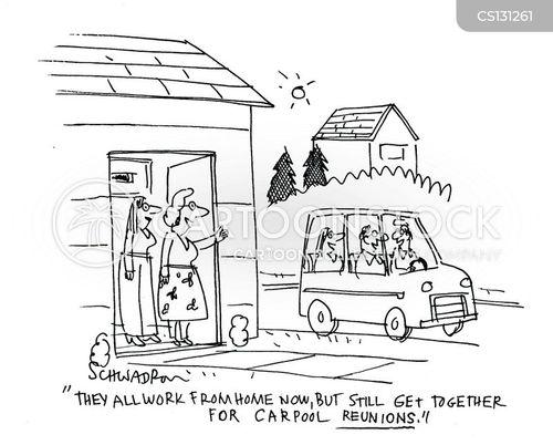 transported cartoon