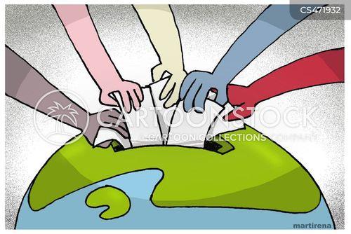 Expatriate News and Political Cartoons