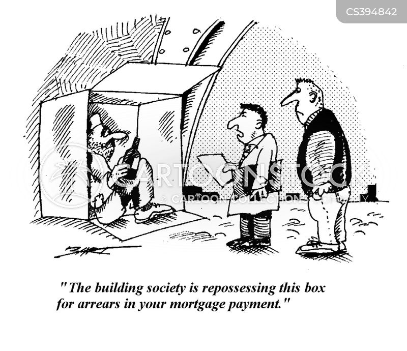 repossession news and political cartoons