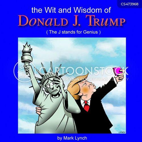 Ego News And Political Cartoons