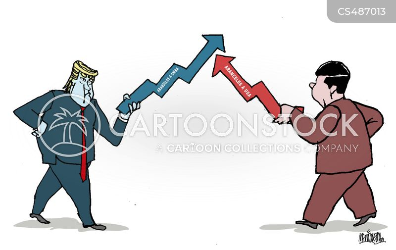 Trade Wars cartoons, Trade Wars cartoon, funny, Trade Wars picture, Trade Wars pictures, Trade Wars image, Trade Wars images, Trade Wars illustration, Trade Wars illustrations