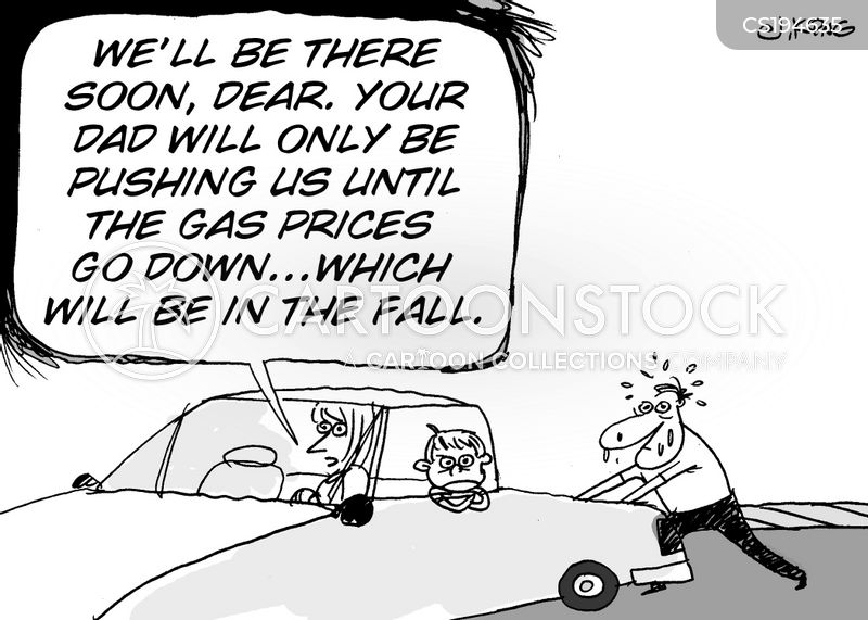 Falling Gas Price News and Political Cartoons
