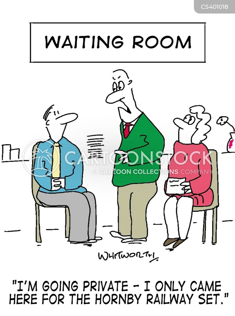 Emergency Room Waiting Cartoon Waiting Room Ne...